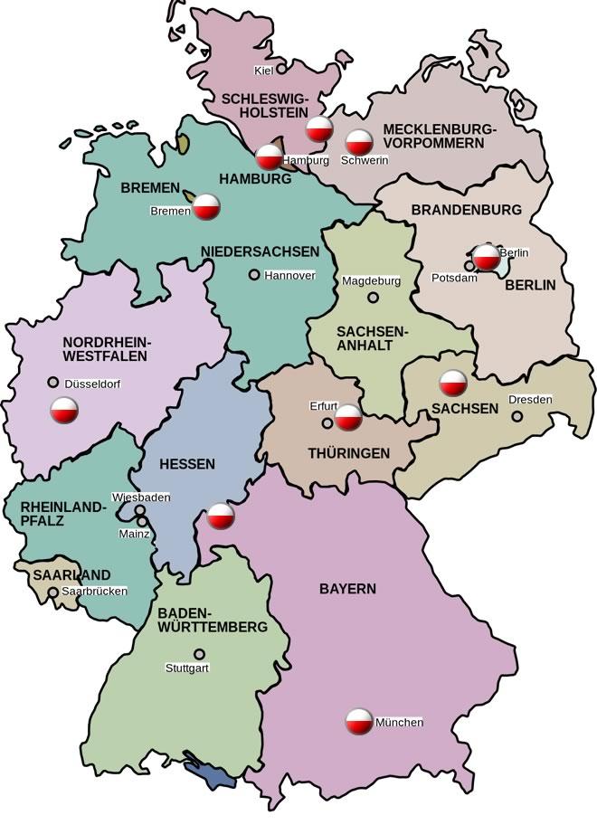 2021 baden württemberg niemczech święta w Niemieckie święta