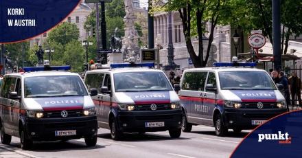 Ogromne utrudnienia na ulicach Wiednia